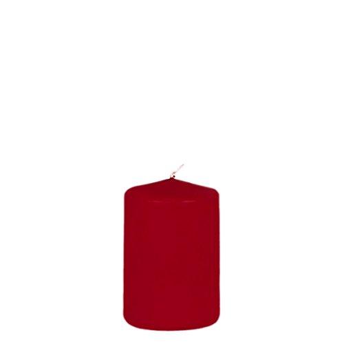 Preisvergleich Produktbild Kerzenzauber rote Stumpenkerze 150 x 100 mm für Weihnachtskränze