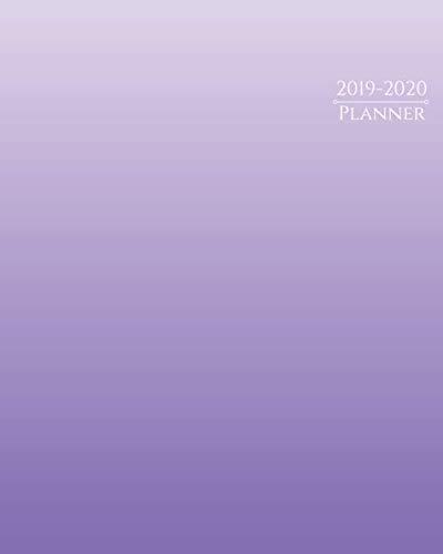 2019-2020 Planner: 16-Month Weekly and Monthly Planner/Calendar Sept 2019-Dec 2020 Purple Gradient
