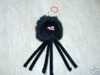Catnip Furry Spider Cat Toy 1