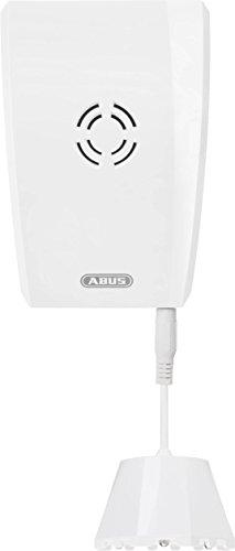 ABUS Funk-Wassermelder Smartvest Erweiterung der Funk-Alarmanlage   Bodensensor für Küche, Keller, Bad   einfache Montage   weiß   76916