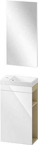 Gäste WC Badmöbel Set WT Waschbecken kaufen  Bild 1*