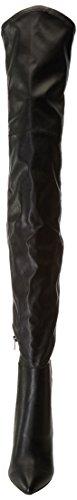 Steve Madden Kristen, Bottes Classiques Femme Noir (Black Pu)