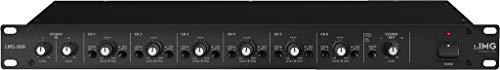 IMG STAGELINE LMS-808 Mikrofon-Line-Mischer/Splitter schwarz