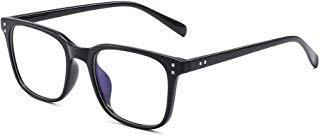 Blaues Licht Blockiert Computer Brillen Anti Blau Ray Platz Glasses Reduzieren Auge Belastung für Damen Herren Schwarz