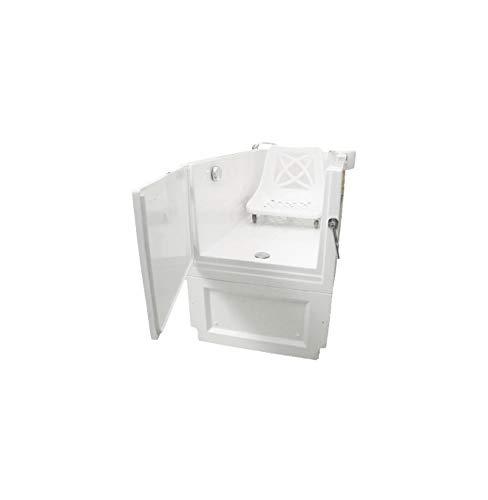 Senioren Sitzbadewanne SENSATION 132x68x90 cm Seniorenbadewanne Sitzwanne Badewanne mit Tür
