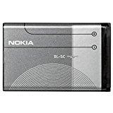 Nokia BL-5C - Batteria per cellulare compatibile con Nokia 1100, 1101, 1110, 1112, 1200, 1208, 1209, 1600, 1650, 1800, 2300, 2310, 2323 Classic, 2330 Classic, 2600, 2610, 2626, 2700 Classic, 2730 Classic, 3100, 3109 Classic, 3110 Classic, 3110 Evolve, 3120, 3650, 3660, 6030, 6085, 6086, 6230, 6230i, 6267, 6270, 6555, 6600, 6630, 6670, 6680, 6681, 6820, 6822, 7600, 7610, E50, E60, N-Gage, N70, N71, N72, N91, 2323c, 2330c, 2700c, 2730c, 3109c, 3110c, 3110e