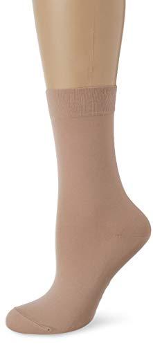FALKE Damen Socken Cotton Touch, Baumwollmischung, 1 Paar, Beige (Ginger 4029), Größe: 35-38