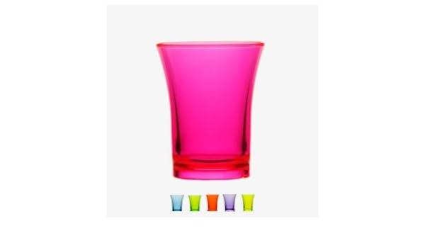 a4f3e2b33 Reusable Plastic Shot Glasses 35ml - CE Stamped (Neon Yellow)   Amazon.co.uk  Kitchen   Home
