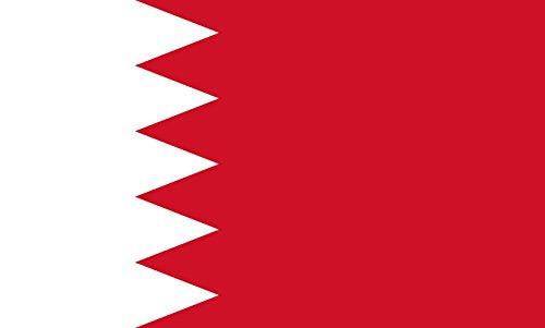 magFlags Flagge: XXL+ Bahrain | Querformat Fahne | 3.75m² | 150x250cm » Fahne 100% Made in Germany - Bahrain Karte Von