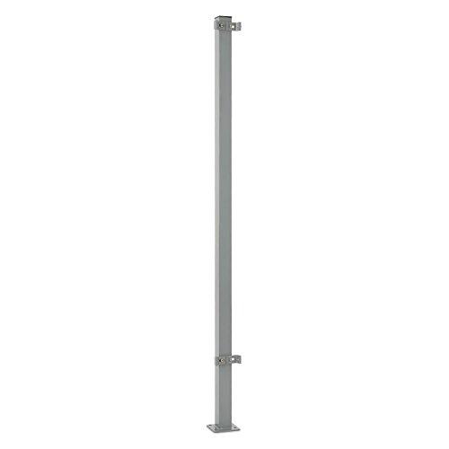 blumfeldt Torre di Bari Standpfosten Zubehörteil für Bari Seitenmarkisen 1,5 m Hoch Aluminium...