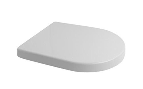 veebath Splash D Shape Soft Close Toilettensitz WC mit Steckbefestigung - Soft-close Seat-cover
