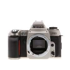 Nikon F80 Spiegelreflexkamera Silber