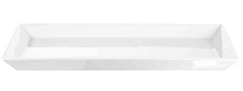 ASA 52145017  Servierteller Porzellan 39,50 x 26 x 3 cm, weiß