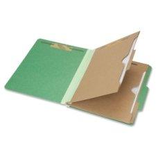 skilcraft 7530-01-600-6983Klassifikation Pocket Ordner, Brief Größe, Dunkelgrün (Box Of 10) - Größe Ordner-verschluss Brief