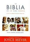 La Biblia de la Vida Diaria/ The Everyday Life Bible: Nueva Version Interncional, Burgundy