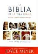 La Biblia de la Vida Diaria-NVI: El Poder de la Palabra de Dios Para el Diario Vivir
