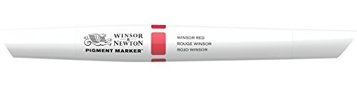 Winsor & Newton Pigment Marker, Red by Winsor & Newton