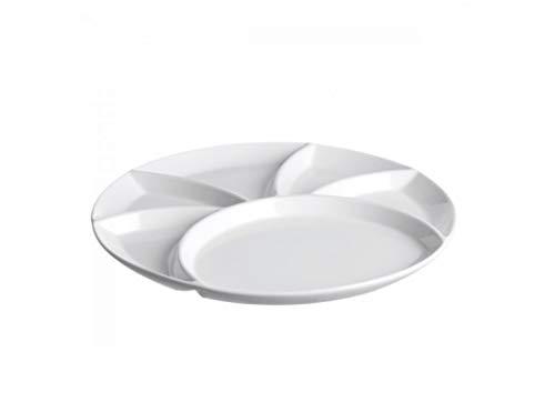la Porcellana Convivio Fondue/Party Teller cm 26GB, Weiß