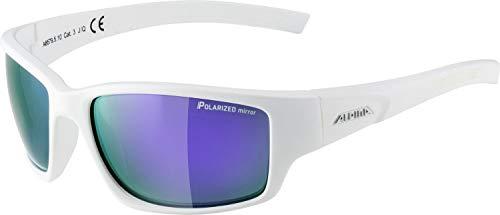 ALPINA Keekor P Outdoorsport-Brille, White Matt, One Size