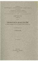 Dionysius Bar Salibi. in Apocalypsim, Actus Et Epistulas Catholicas: (Syr. II, 101), V. (Corpus Scriptorum Christianorum Orientalium) par I Sedlacek