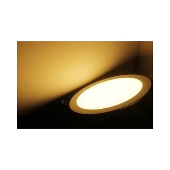 official photos 3c977 f1540 MAZDA ENERGY LED Panel 15W Ceiling Light (Warm White, Round)