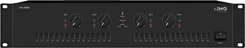IMG STAGELINE STA-2000D 4-Kanal PA-Digital-Verstärker schwarz (Pre-amp, Usb)