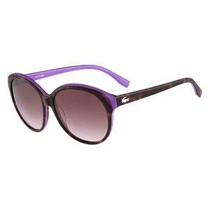 Lacoste occhiali da sole l748s (57 mm) marrone/lavanda