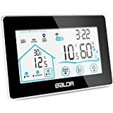 Indoor Outdoor Thermometer Digital Wireless Hygrometer Weather Station Wireless Temperature and Humidity Monitor