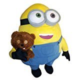 Minion Bob with Tim Teddy Bear Plush - Minions Movie 2015 - 60cm 24""