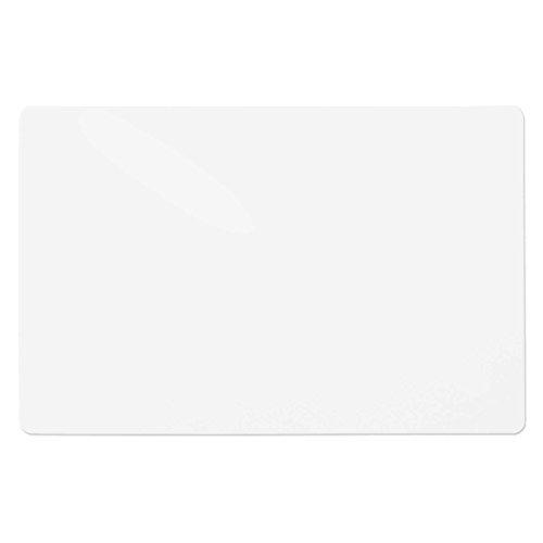 Trendige Schreibtischunterlage | semi transparent / gefrostet | abwischbar | PVC-frei | 65 x 50 cm | einzeln oder im Set (1 Stück)