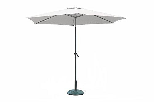 Galileo 2179259 cuba - ombrellone, grigio (Écru)