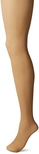 Hanes Perfect Nudes Net Girl Short Tummy Control Hosiery (PN0003) -Buff/Nude -3/4X