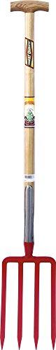 Brico-materiaux - Fourche à bêcher férule anglaise / Emmanchée - Triangulaire - 30