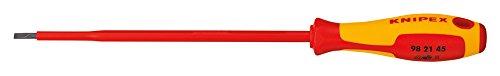 KNIPEX 98 21 45 Schraubendreher für Schlitzschrauben 287 mm