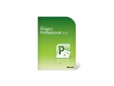 Microsoft MS Project Pro 2010/NL DVD W32 1u