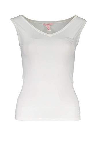 Guess Jeans 1706-T10 Débardier Femme Blanc 1100 II