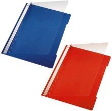 Preisvergleich Produktbild Sichthefter Standard Plastik-Hefter, A5, grün