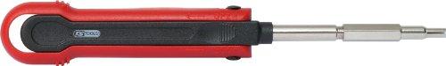 KS Tools 150.1257 Entriegelungswerkzeug für Rundstecker/Rundsteckhülsen 2,5 mm (AMP Tyco 2,5)