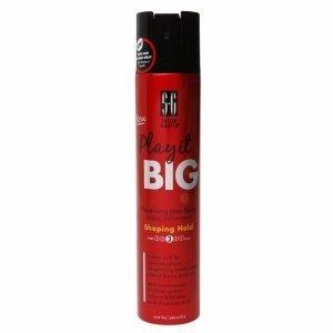 Salon Grafix Play it Big Volumizing Hair Spray, Shaping Hold, 10 oz by Salon Grafix (Spray Shaping Hold)