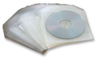 Preisvergleich Produktbild CD/DVD Hüllen. 120 Mikron Polypropylen. 100 Stück