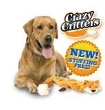 Best As Seen On TV Pet Toys - New Cuddlee Critter for Dog Chew Toy As Review