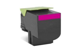 Preisvergleich Produktbild Original Lexmark 80C2XM0 / 802XM Toner (magenta, ca. 4.000 Seiten, return program) für CX 510