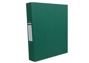 10-x-a4-paper-on-board-ring-binder-green