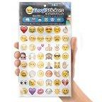 Boxer Emoji-Sticker, mehrfarbig (19Stück Blatt)