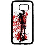 Coque Samsung Galaxy S6 Cover Shell Personalized Cool Style Awesome Comic Superhero Deadpool Phone Case Cover for Coque Samsung Galaxy S6 Mercenary Great,Cas De Téléphone