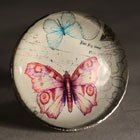 Vintage Style Bird Butterfly Dragonfly Drawer Knobs Cupboard Door Handles Pulls (Butterfly 2)