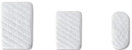 Pirulos 41200001 - Protector colchón, algodón, 40 x 80 cm, color blanco