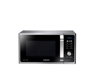 Samsung MS23F301TAS Encimera 23L 800W Acero inoxidable - Microondas (330 x 324...