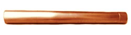 Regenablaufrohr Kupfer 1 Meter Stück 100 mm