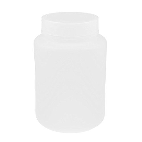 sourcingmap Labor Schraubdeckel Kunststoff chemikalien Lagercontainer Reagensflasche 100mL